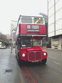 London 13 double decker