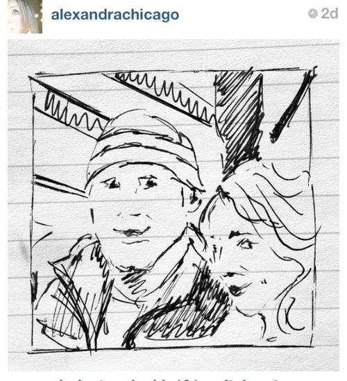 London Am instagram Alex drawing