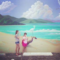 2 sisters beach FT LAUD ice cream (1)
