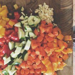 House veggies soup test